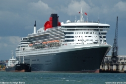 Queen Mary 2, Bj. 2003, GT 148.258 - 29.05.2006, Southampton